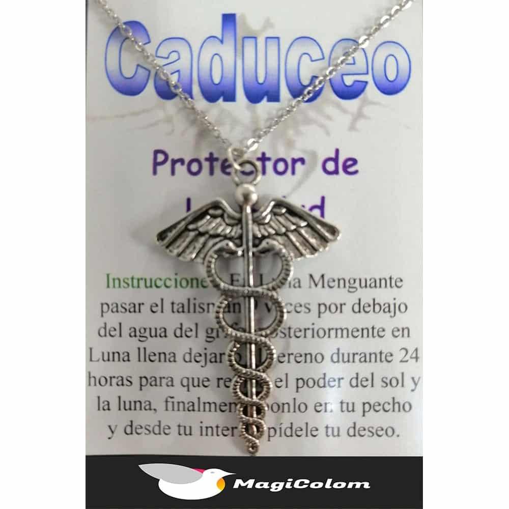 Talismán Caduceo Salud