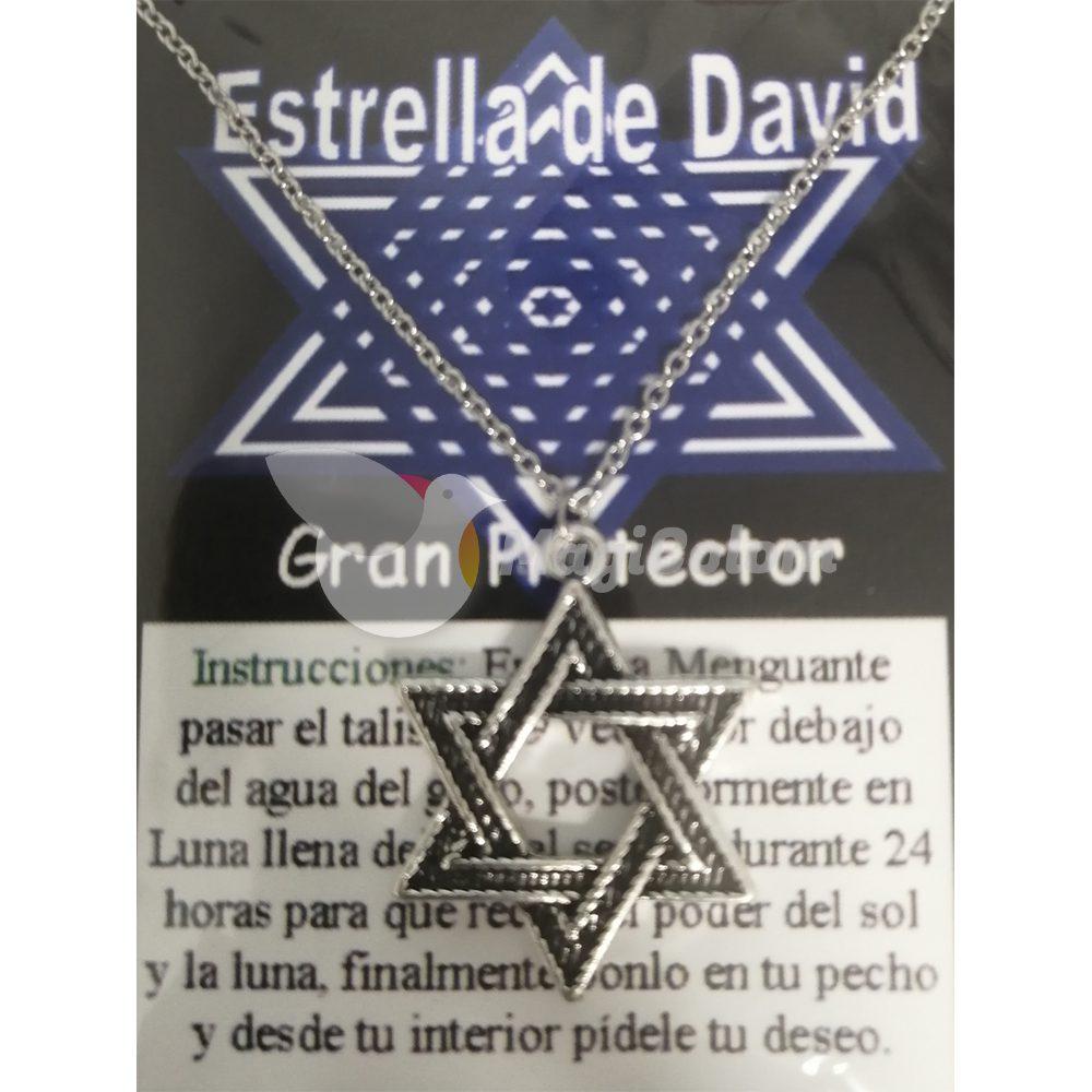 Talismán Estrella de David