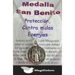 Talismán Medalla de San Benito