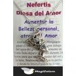 Talismán Nefertis Diosa del Amor