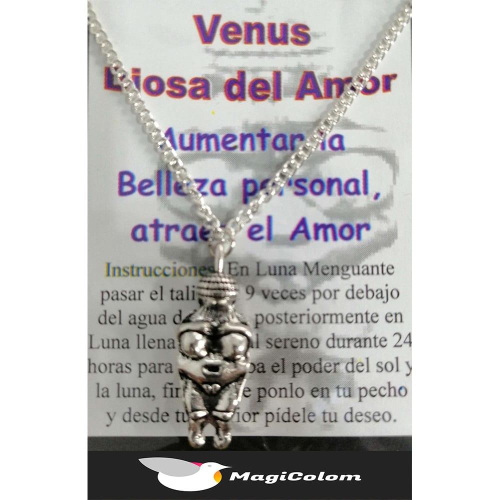 Talismán Venus Diosa del Amor