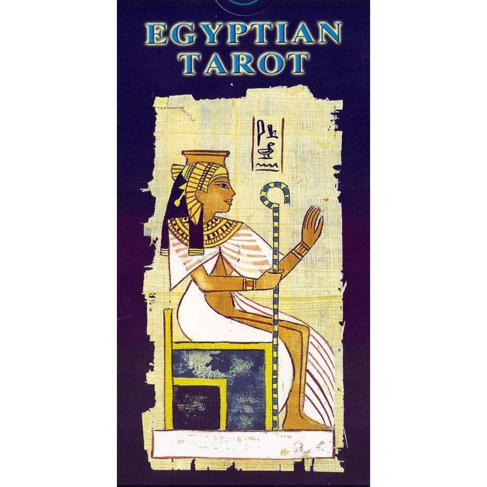 Tarot Egipcio Fondo Papiro