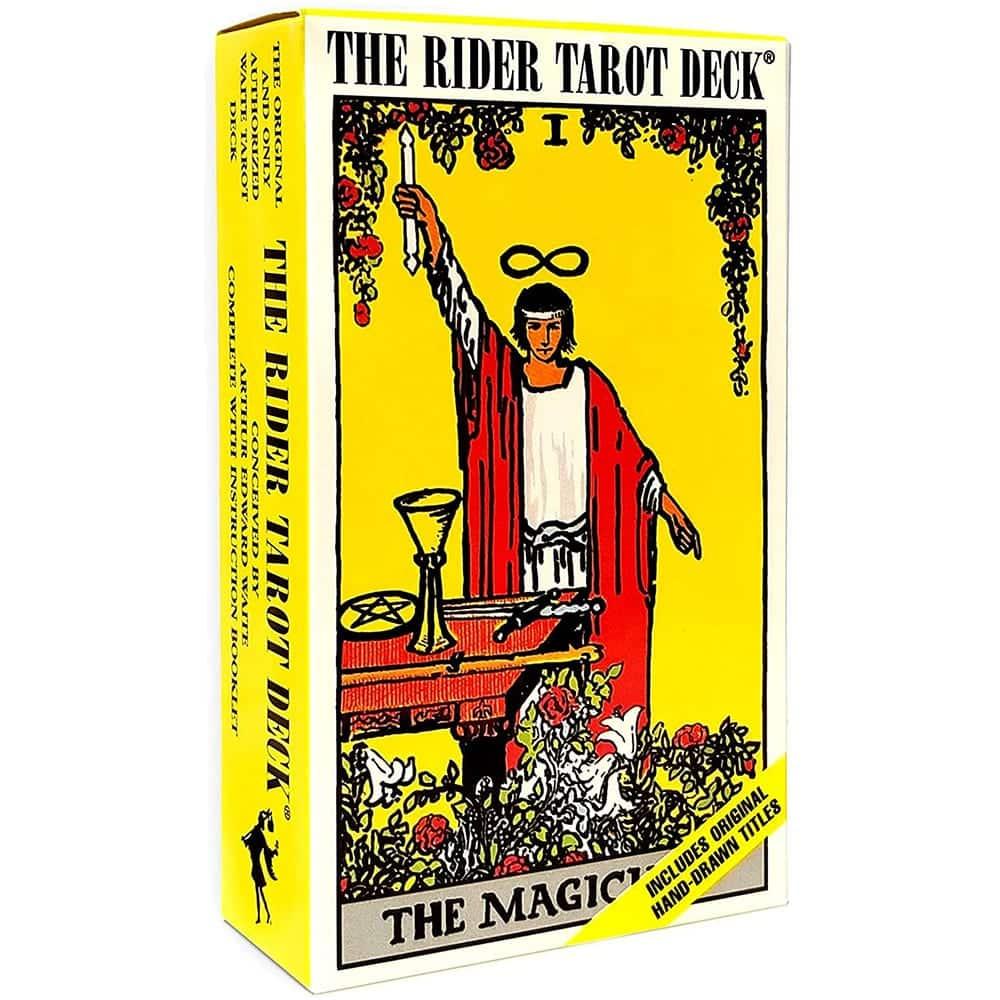 Tarot Rider Waite en Español Caja Amarilla