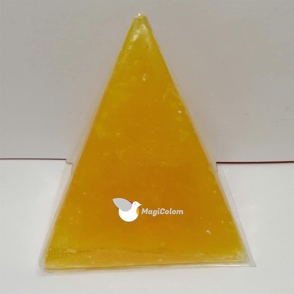 Vela Pirámide Pequeña Amarilla
