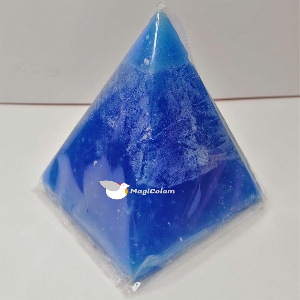 Vela Pirámide Pequeña Azul
