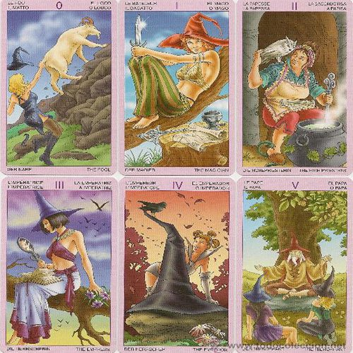 Cartas Tarot de la Bruja Moderna