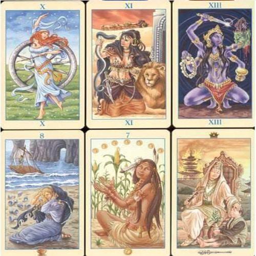 Cartas Tarot de las Diosas