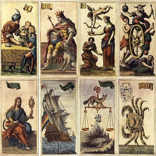 Cartas Tarot Minchiate Etruria