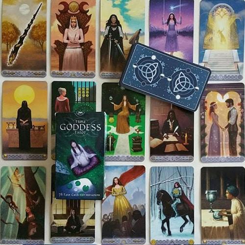 Cartas Tarot de la Triple Diosa