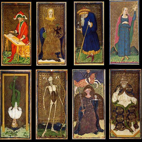 Cartas Tarot Visconti Sforza