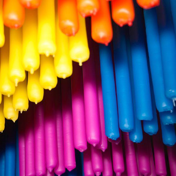 Velas de Color