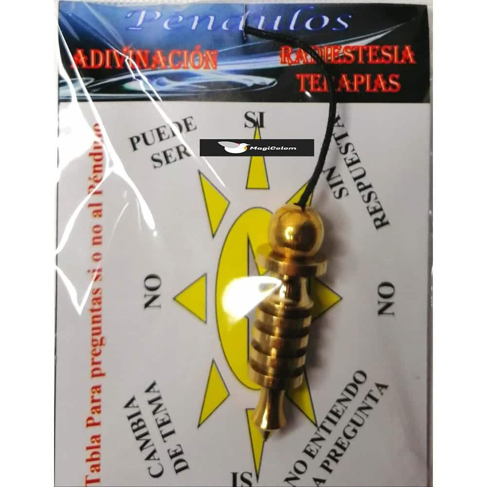 Péndulo Metal Isis Dorado