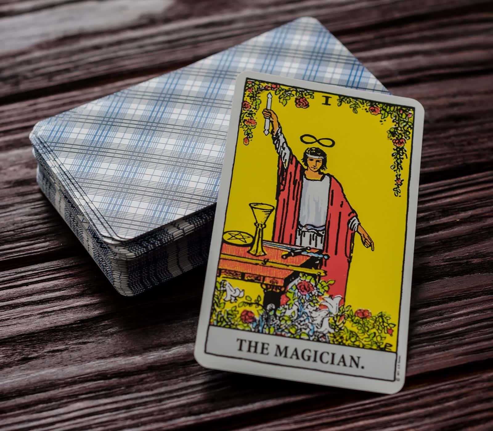 Carta Tarot: El Mago