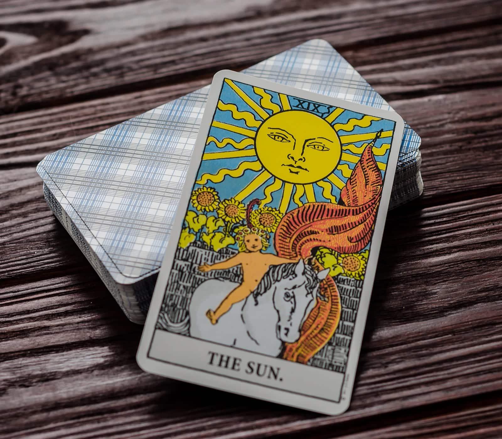 Carta Tarot: El Sol