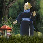 Muñeco de Ganímedes – Elfos Pep Catalá