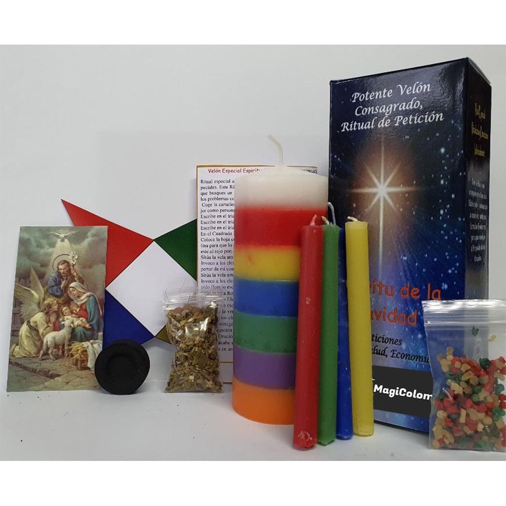 Velón de Petición Espíritu de la Navidad