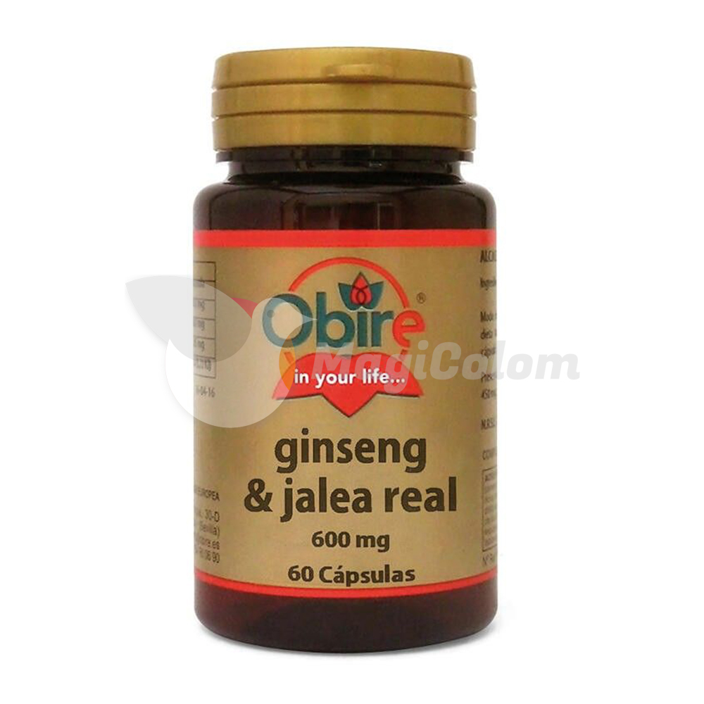 Jalea Real y Ginseng Obire 600mg