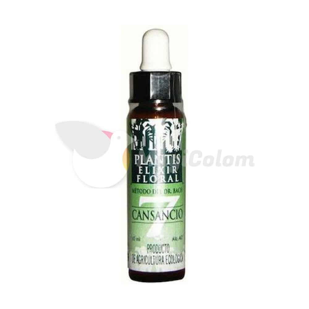 Remedio Elixir Floral 7 Cansancio Plantis