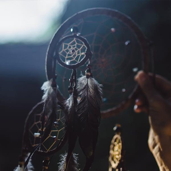 Velas con amuletos