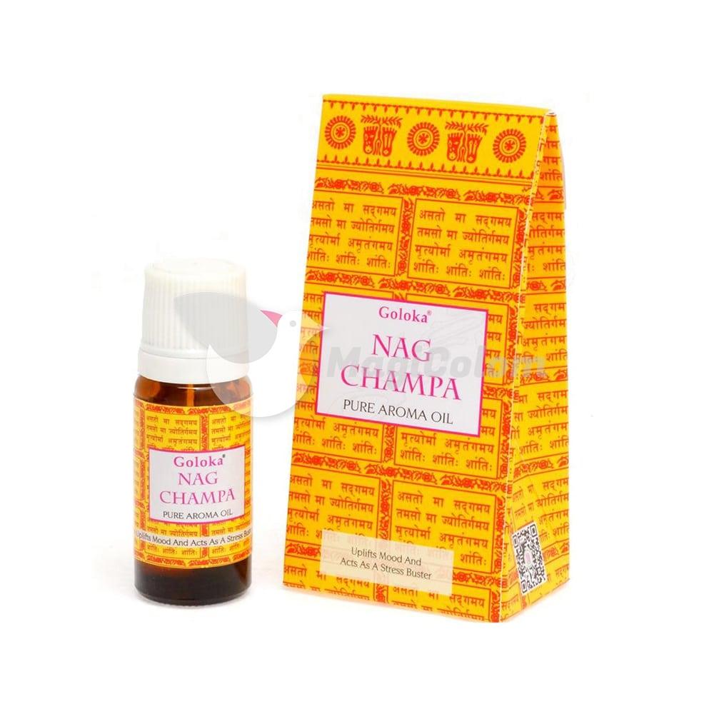 Goloka Aceite Esencial Nag Champa