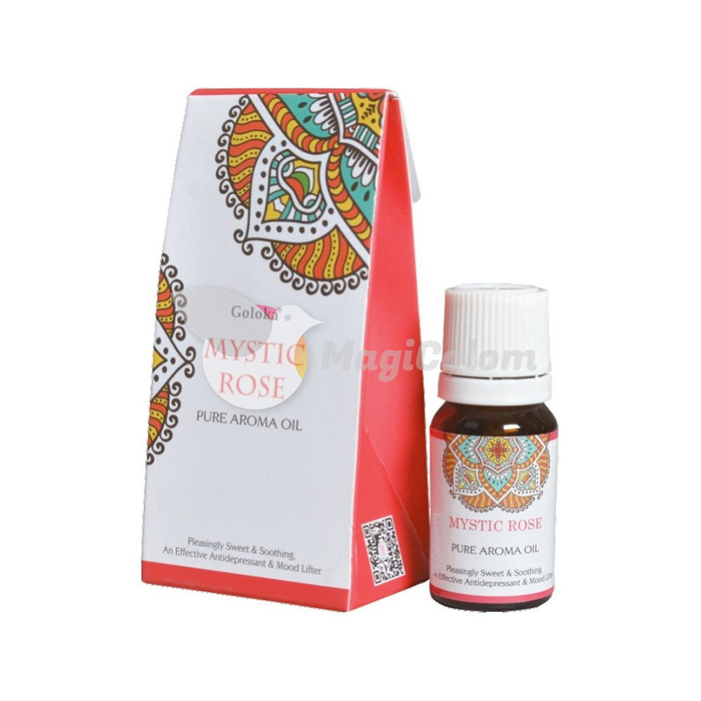 Goloka Aceite Esencial Rosa