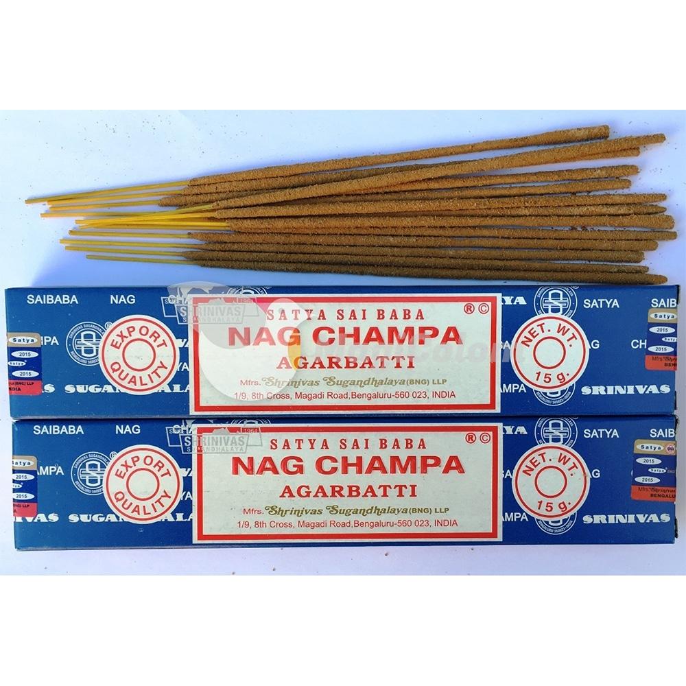 Incienso Satya Nag Champa Original