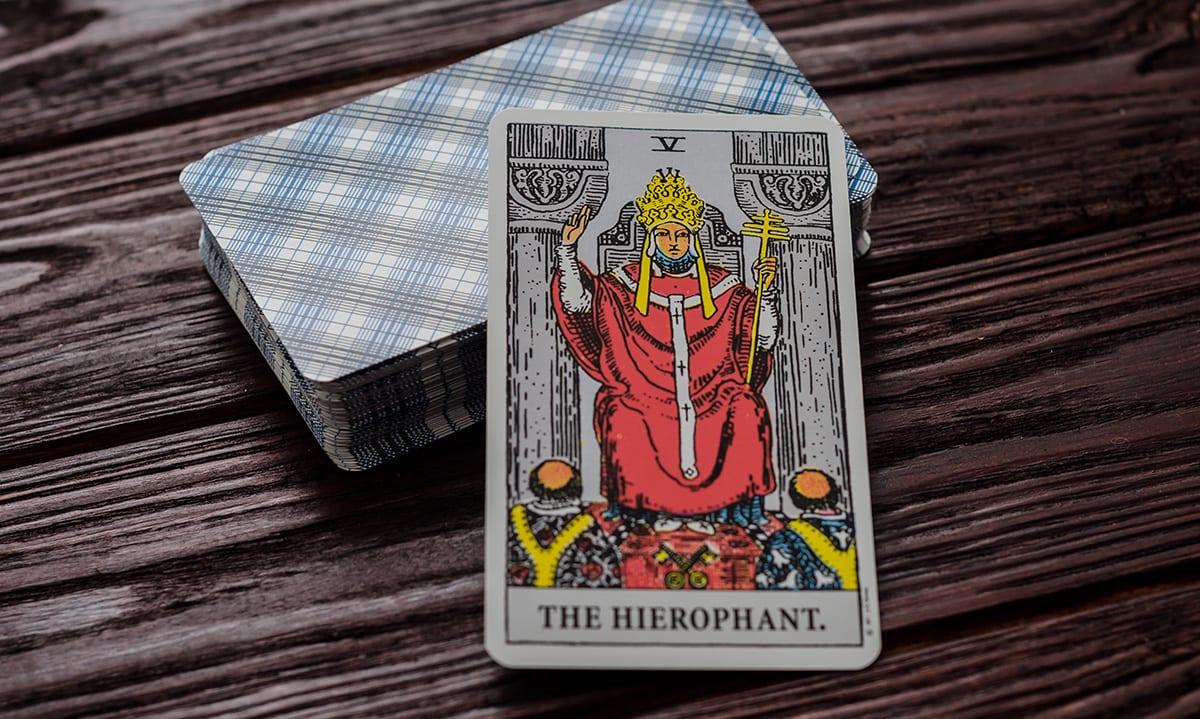 El Papa Combinaciones Tarot