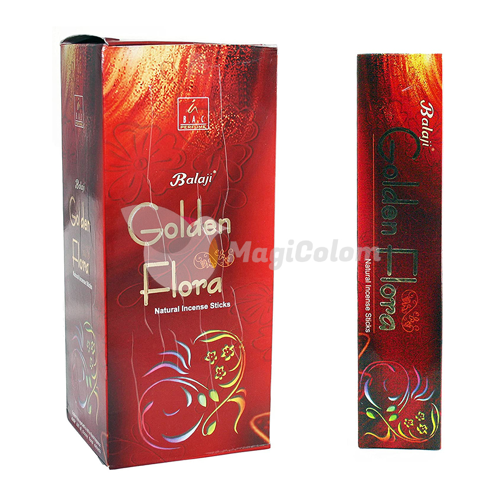 Incienso Balaji Golden Flora