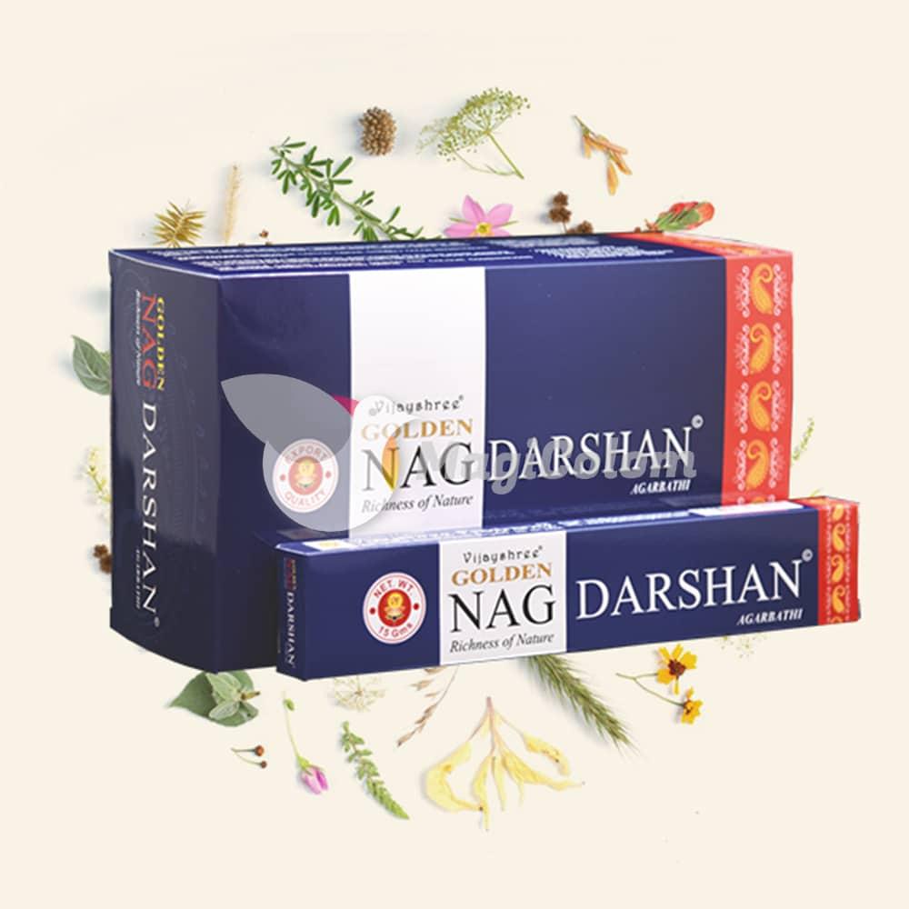 Incienso Golden Nag Darshan
