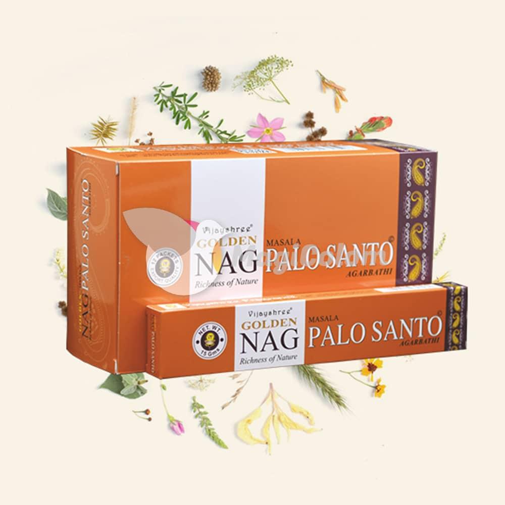 Incienso Golden Nag Palo Santo