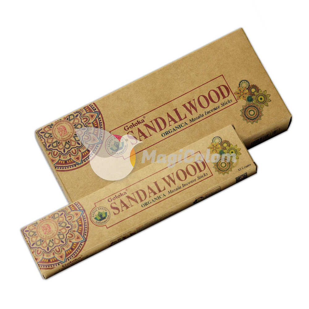 Incienso Goloka Orgánico Sandalwood