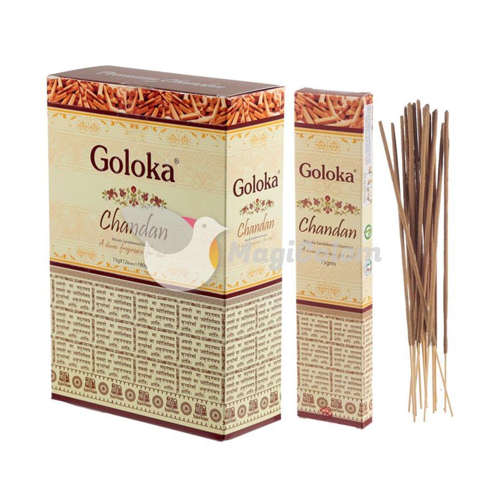 Incienso Goloka Premium Sandalo Chandan