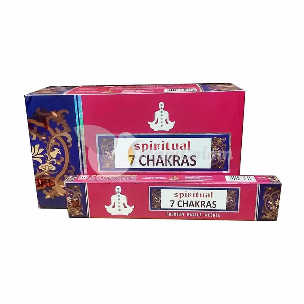 Incienso Sri Durga Spiritual 7 Chakras