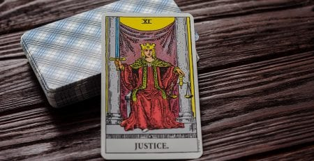 La Justicia Combinaciones Tarot