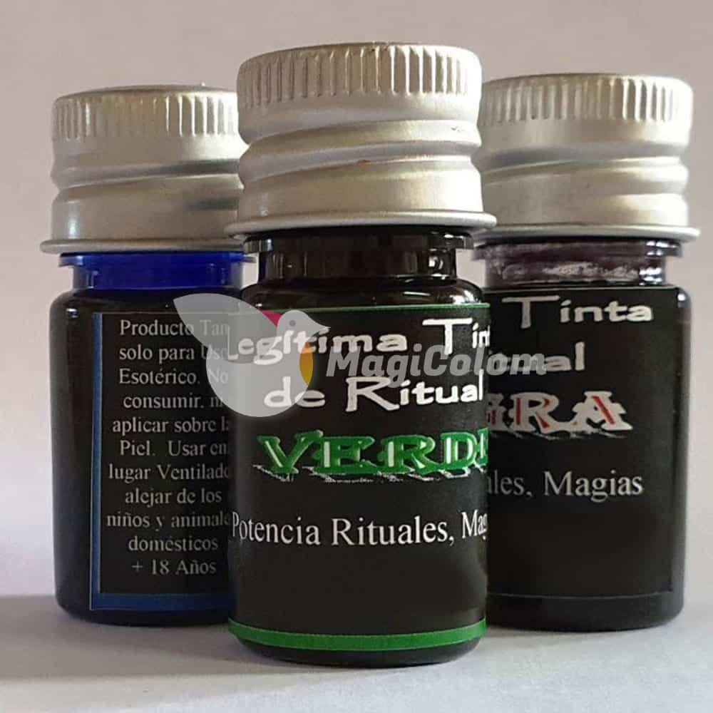Tinta Verde para Ritual
