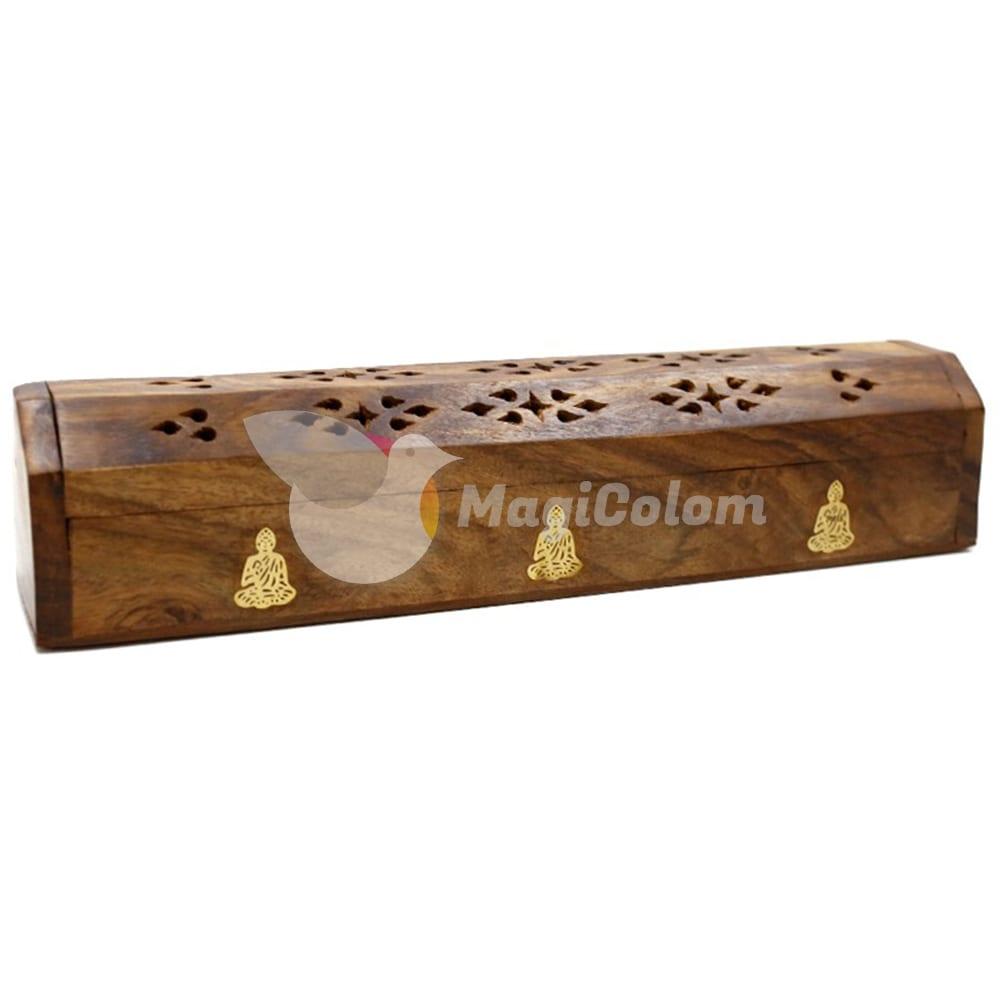 Caja de humo madera Buda