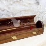 Caja de humo madera Elefante