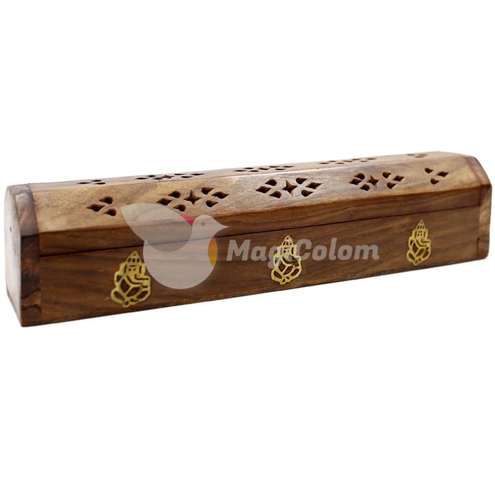 Caja de humo madera Ganesha