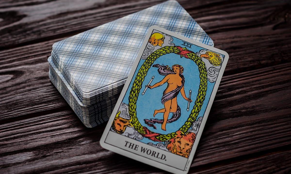 El Mundo Combinaciones Tarot