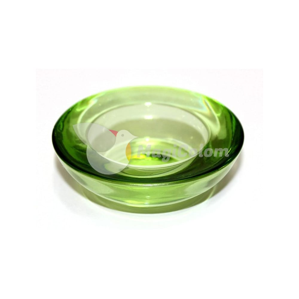 Portavelas Cristal Votive Verde