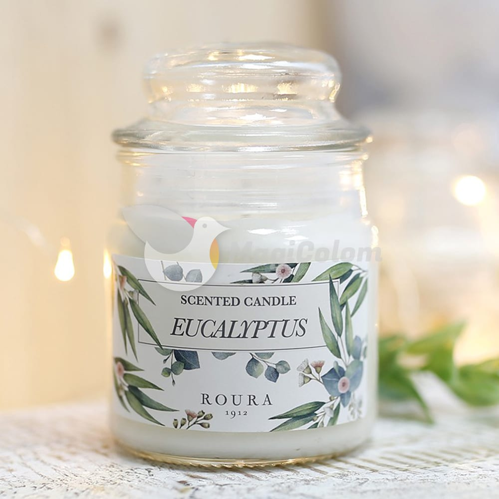 Vela botánica aroma Eucalipto