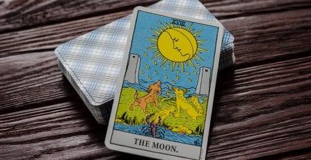 La Luna Combinaciones Tarot