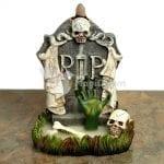 Quemador de incienso de reflujo Zombie Lapida RIP