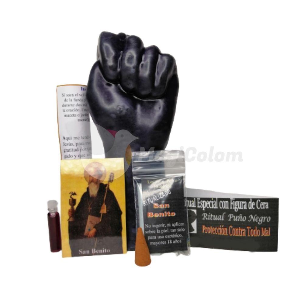 Ritual Esotérico Puño Negro, Protección Contra Todo Mal con oración