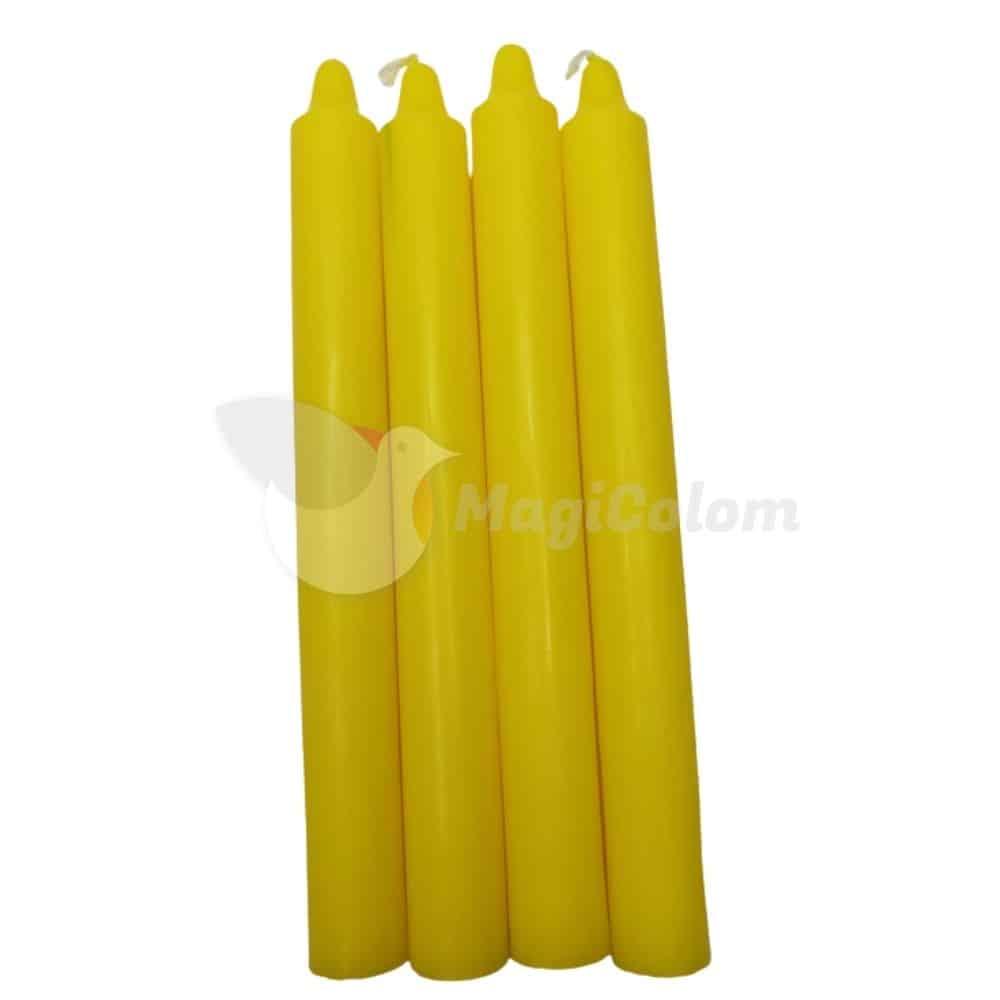 Vela Amarilla Especial Esotérica