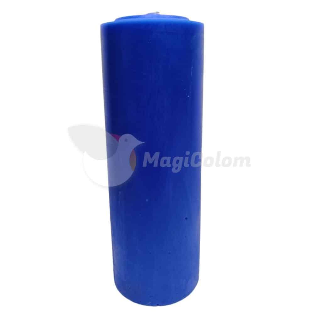 Velón Azul Oscuro Especial Esotérico