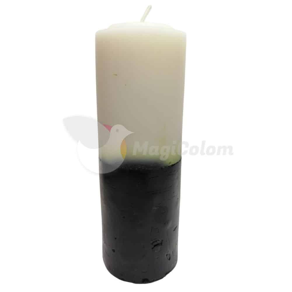 Velón Negro Blanco Especial Esotérico