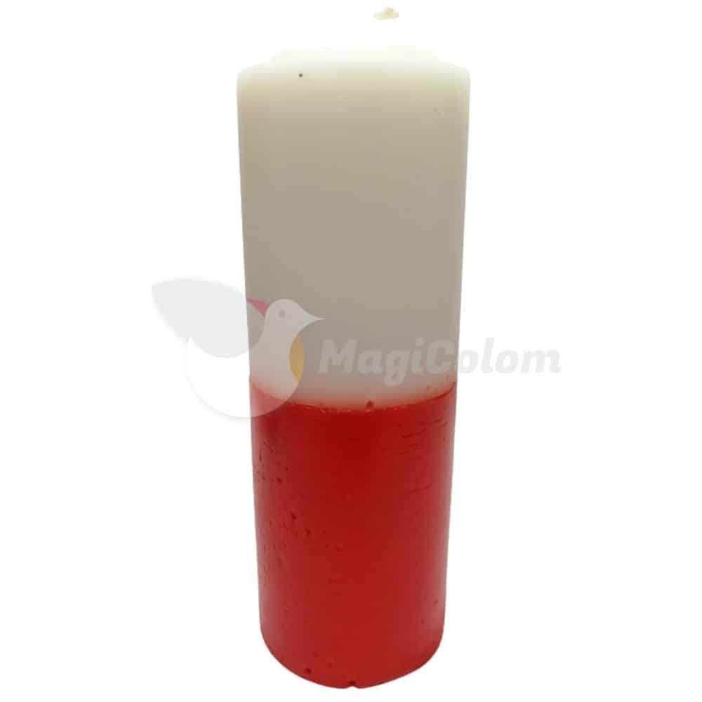 Velón Rojo Blanco Especial Esotérico