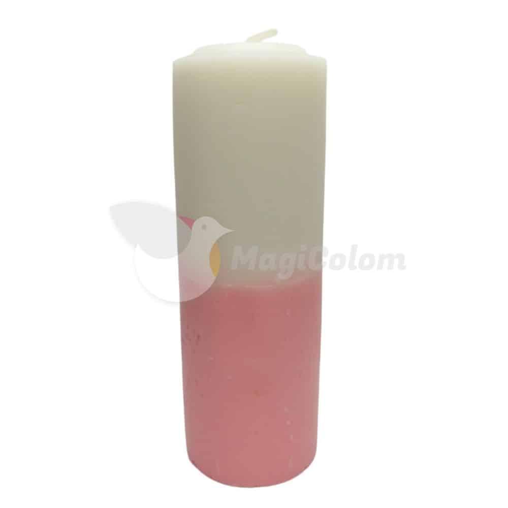 Velón Rosa Blanco Especial Esotérico