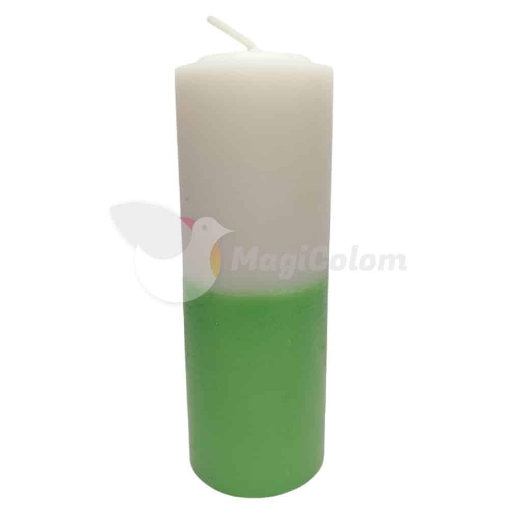 Velón Verde Blanco Especial Esotérico